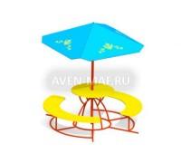 Детские столики и зонтики